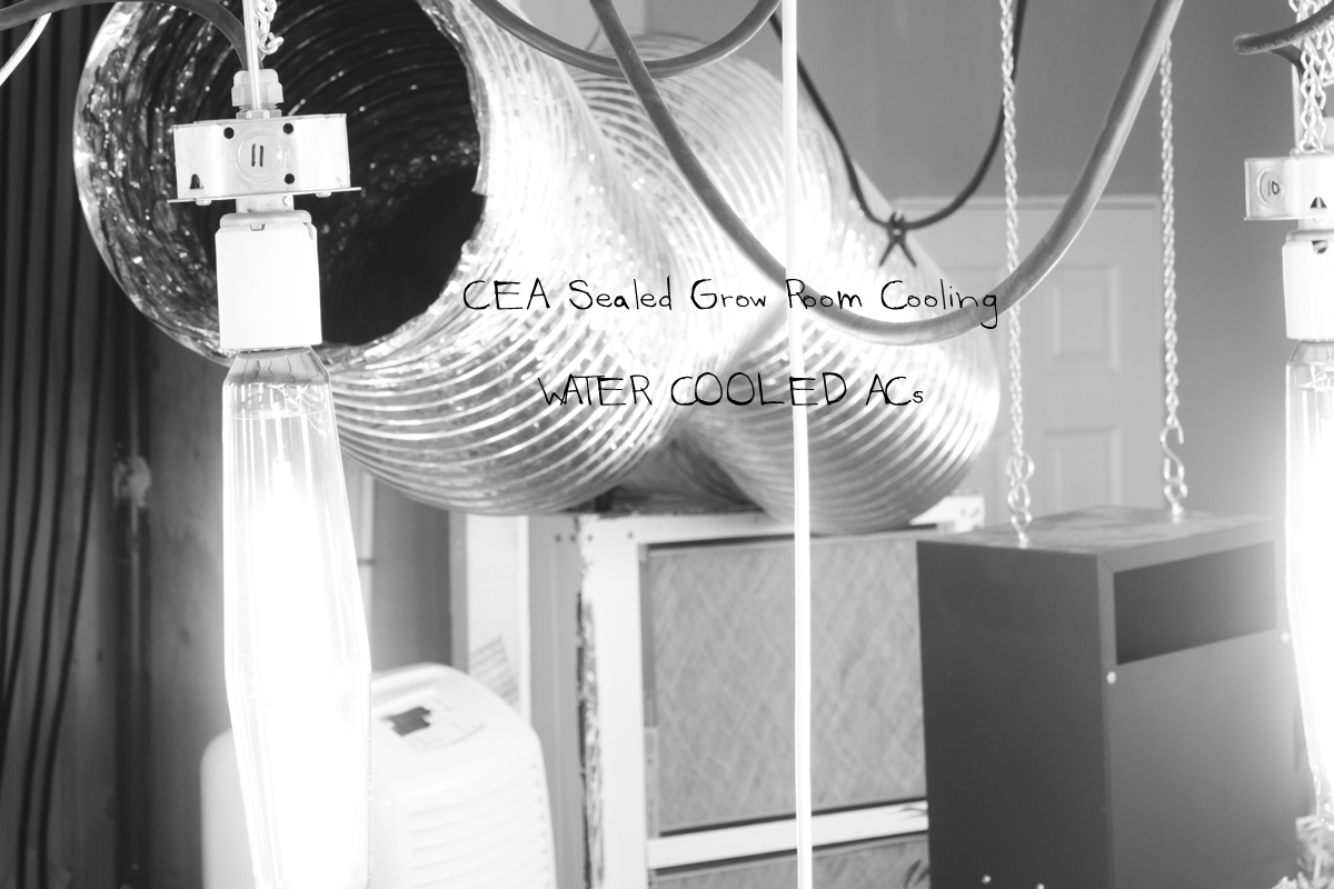 CEA Sealed Grow Rooms and Water Cooled Air ConditionersGROZINE #363636