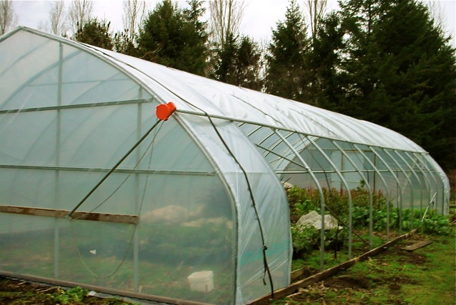 black out system greenhouse frame