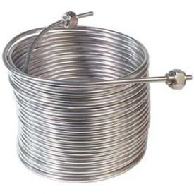 stainless steel reservoir chiller coil