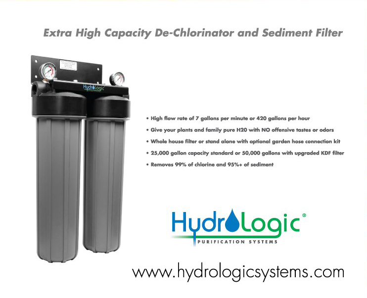 dechlorinator garden water filtration