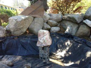 rock balance excavator