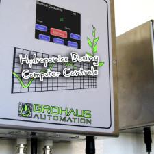 Hydroponics Dosing Computer Controls