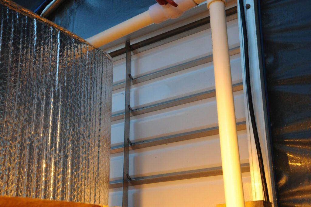 greenhouse shutter panel