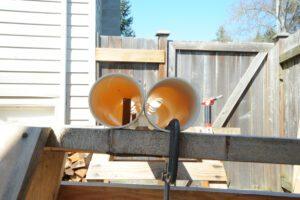 vertical grow tubes construction