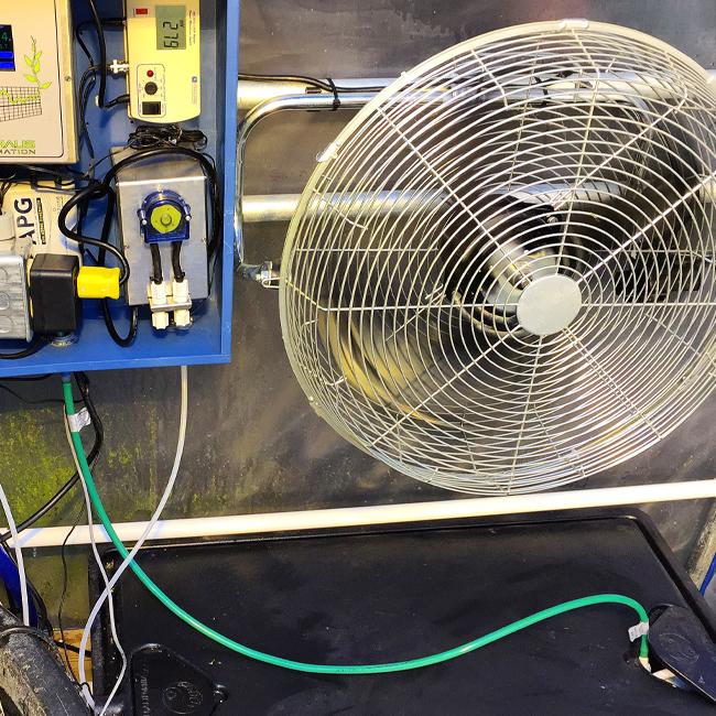 hydroponic ozone system