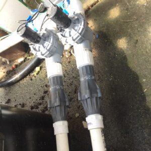 irrigation solenoids and pressure compensators