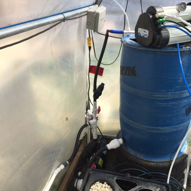 high flow hydroponic ro
