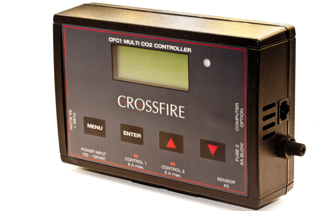 crossfire co2 monitor hydroponics