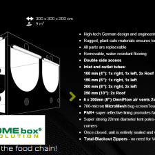 HOMEbox Evolution Grow Tents Q240 Q300