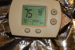 spring time hydroponics cooling thermostat