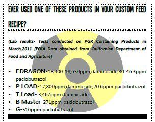 cdfa paclobutrazol findings