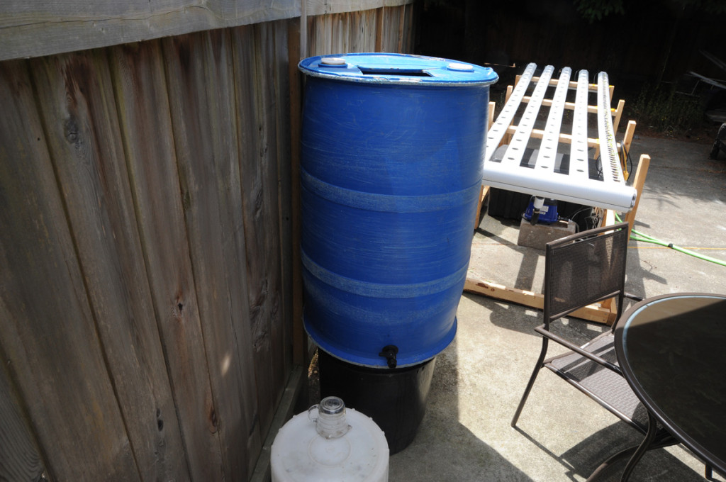 backyard hydroponics water system