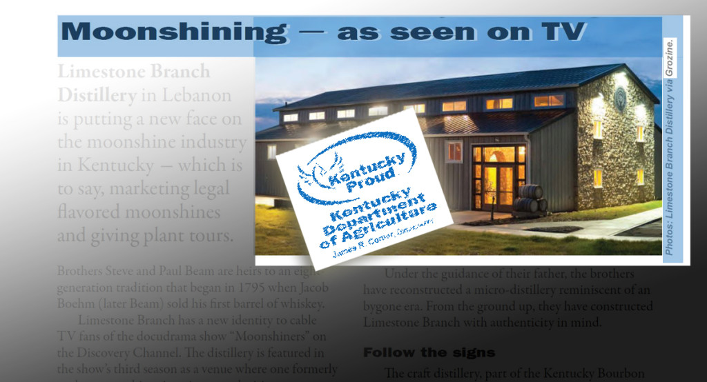 kentucky agrotourism moonshine grozine article
