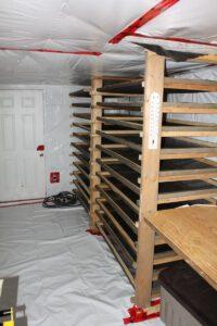 drying racks hydroponics crops