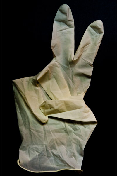 trimming glove