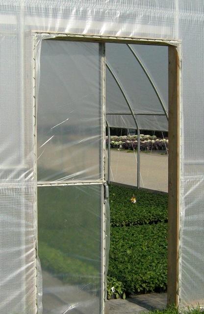 greenhouse doors