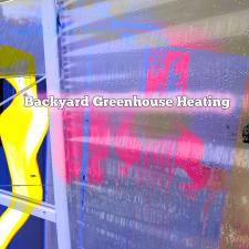 Backyard Greenhouse Heating