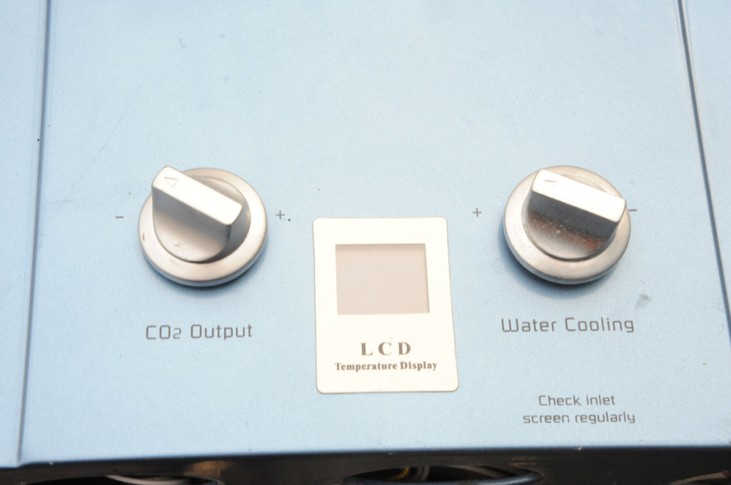 Point of use LP water heater and co2 generator; made for greenhouse applications.