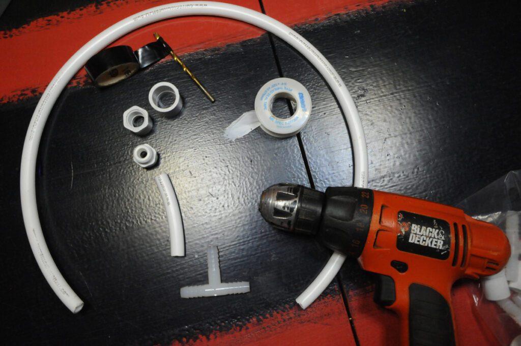 diy drip ring parts
