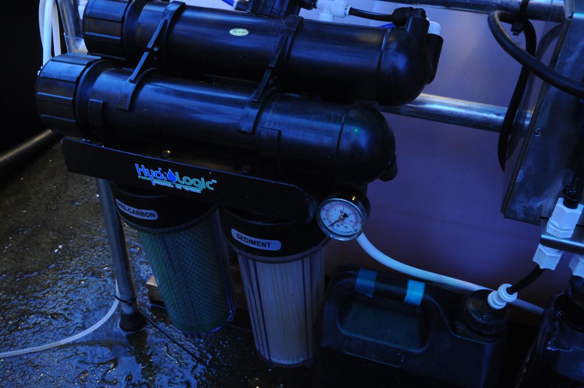 Hydroponic Greenhouse Water Filter Test Grozinegrozine