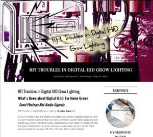 rfi troubles grow lights