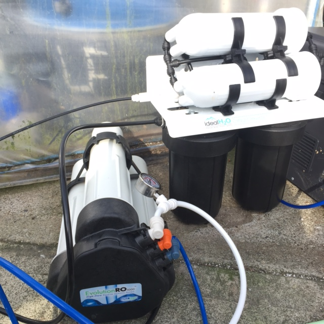 hydroponic ro filter review