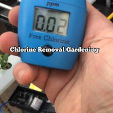 Chlorine Removal Gardening