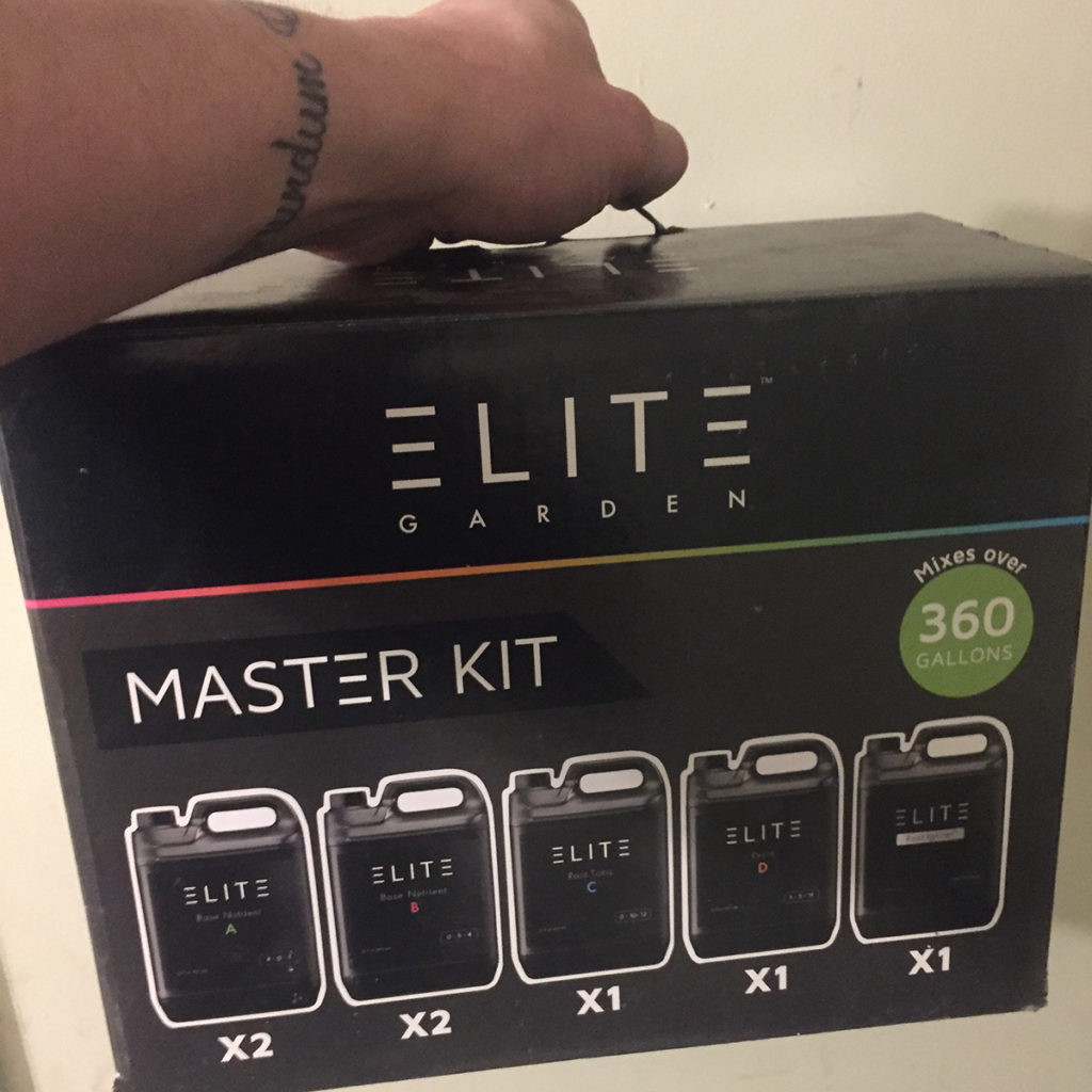 elite garden master nutrient starter kit