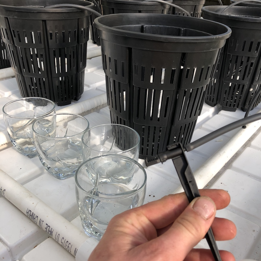 drip table system
